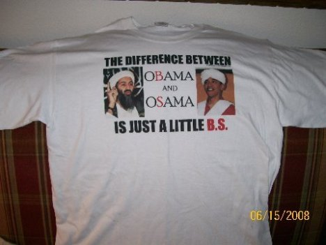 """The Difference betweeen Obama and Osama"
