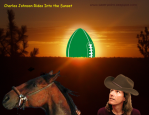 Charles Johnson rides into the sunset